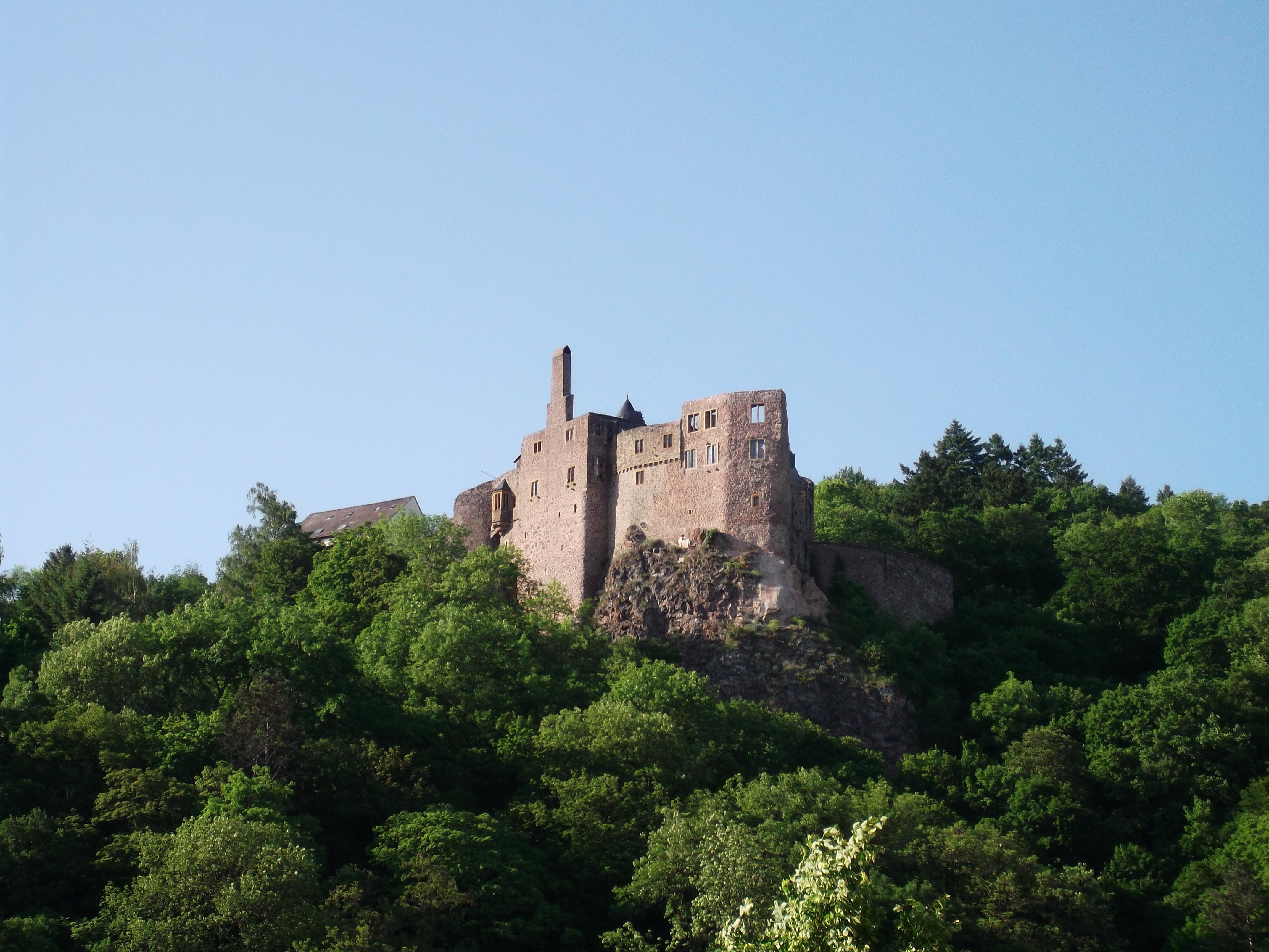 Burg über Idar-Oberstein